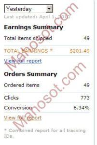 Amazon Earning Report