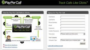 cj pay per call affiliate