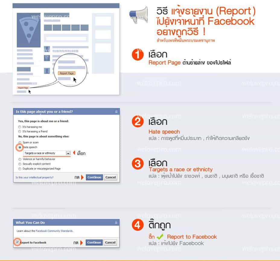 facebook violent report