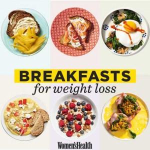 อาหารเช้าลดน้ำหนักลดความอ้วน