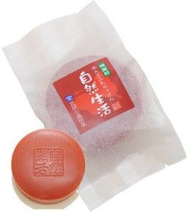 สบู่เต้าหู้โมริตะ สีแดง red tofu-moritaya