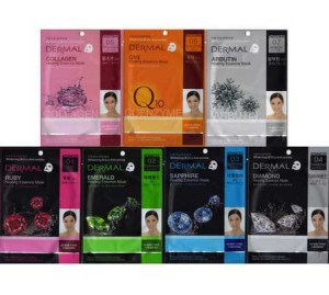mask หน้าขาวใส Dermal Collagen Essence Mask