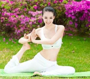 yoga โยคะเพื่อหน้าเรียว