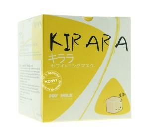 Kirara Soy Milk Whitening Mask มาส์กหน้าถั่วเหลือง