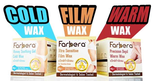Farbera Clear & Soft Wax Strips แผ่นแว็กซ์กำจัดขน ฟาร์บีร่า เคลียร์ แอนด์ ซอฟท์