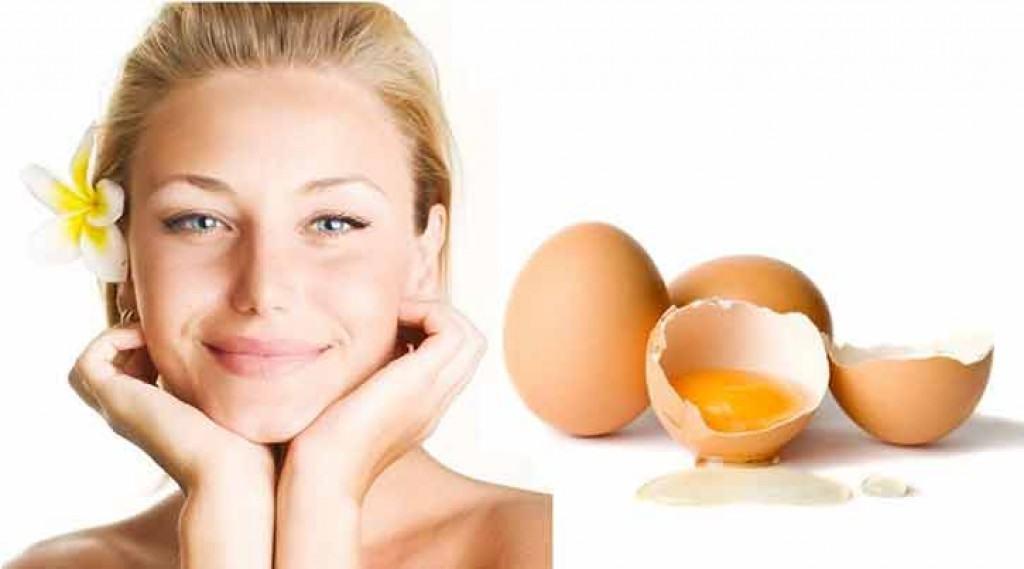 มาส์หน้าด้วยไข่ขาว