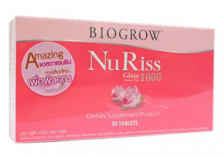 รีวิว Biogrow-NuRiss-Gluta-1000-Amino-Plus ดีไหม pantip