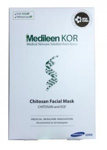 Medileen kor Chitosan Facial Mask แผ่นมาส์กหน้า