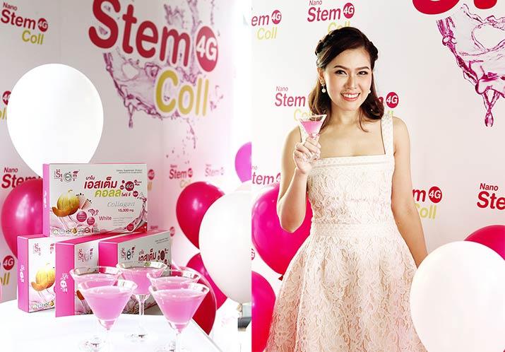 Nano Stemcoll 4G สเต็มเซลล์คอลลาเจน ลาชูเล่