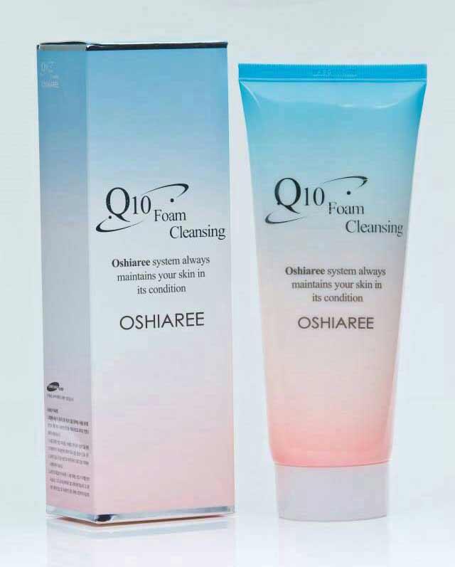 OSHIAREE Coenzyme Q10 Foam Cleansing (โอเชียรี่ โคเอ็นไซด์คิวเท็น โฟม คลีนซิ่ง)