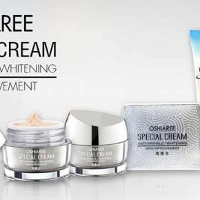 Oshiaree Special Cream + โฟมล้างหน้า Oshiaree Q10 Foam Cleansing