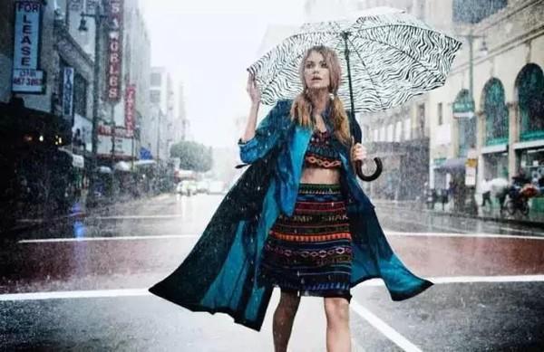 แฟชั่นฤดูฝน