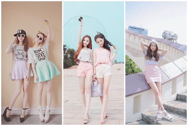 Fashion เสื้อผ้าโทนสีพาสเทล