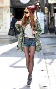denim shorts22