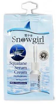 Snowgirl Squalane Serum Cream