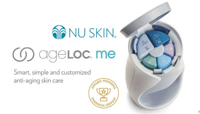 ageLOC Me™ จาก Nu Skin เอจล็อคมี นูสกิน