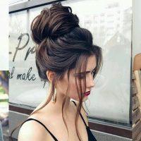 bun hairstyle