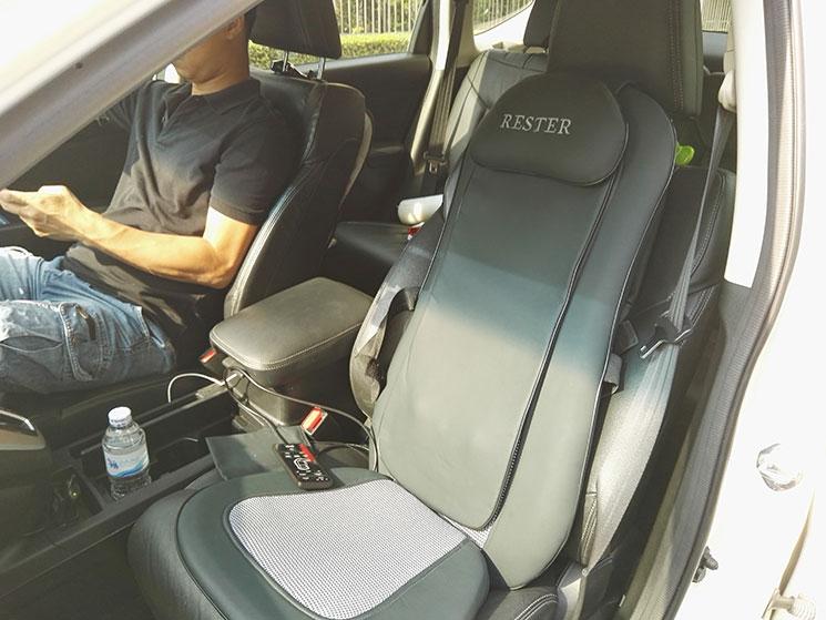 รีวิว เบาะนวดไฟฟ้า Rester เบาะนวดในรถยนต์ เรสเตอร์ ราคาถูก