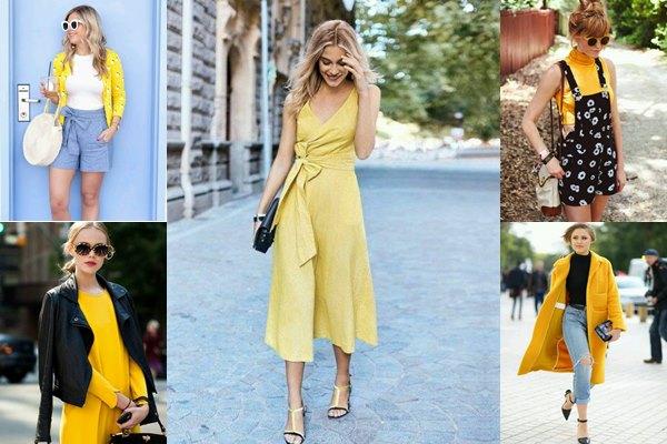 แฟชั่นชุดสีเหลือง