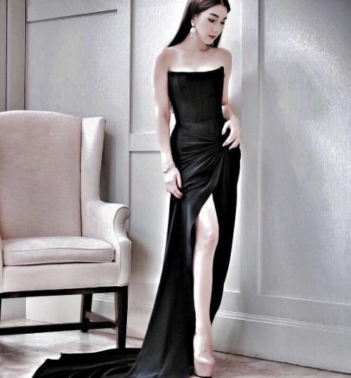 20 แฟชั่นชุดดำดารา อวดความสวย แซ่บ เซ็กซี่ ไม่ซ้ำหน้าใคร ! 8