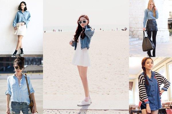 20 แฟชั่นเสื้อเดนิม จัดเต็มความเท่ในแบบผู้หญิงได้ปังกว่าที่เคย ! 1