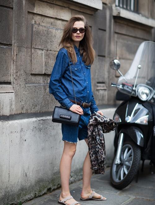 20 แฟชั่นเสื้อเดนิม จัดเต็มความเท่ในแบบผู้หญิงได้ปังกว่าที่เคย ! 6