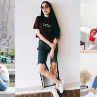 รองเท้าผ้าใบดารานิยมใส่ 2019