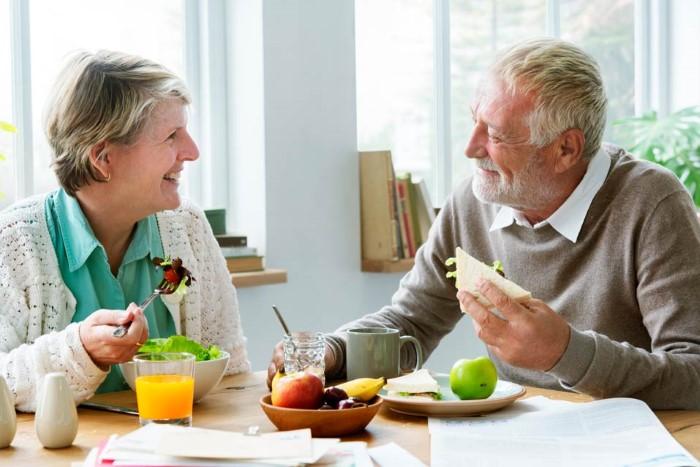อาหารเพื่อสุขภาพผู้สูงอายุ