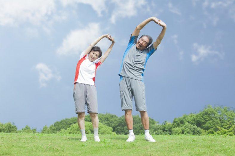 ผู้สูงอายุออกกำลังกาย