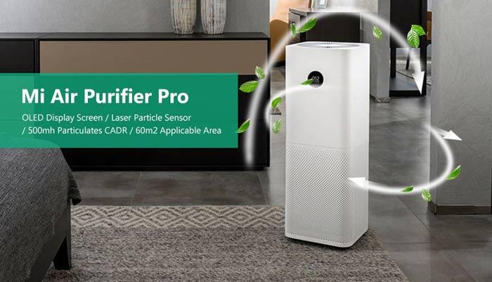 เครื่องฟอกอากาศ Xiaomi Air Purifier PRO 2019