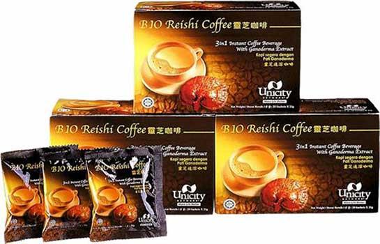 กาแฟเห็ดหลินจือ ยูนิซิตี้ Bio Reishi Coffee