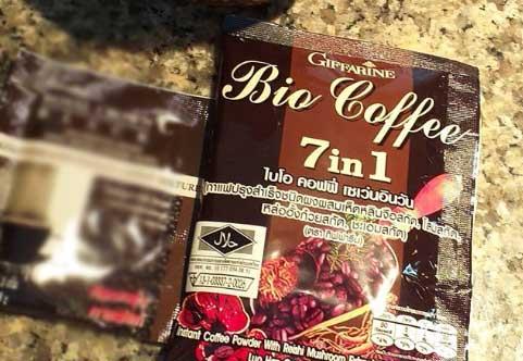 กาแฟเห็ดหลินจือ กิฟฟารีน 7in1