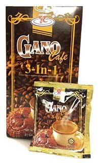 กาแฟเห็ดหลินจือ กาโน 3in1