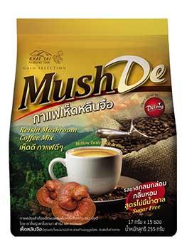 กาแฟเห็ดหลินจือ mush de